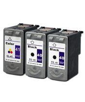 Canon PG-40 PG40 Black + CL-41 CL41 TriColor